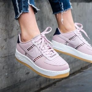 Nike Air Force 1 Upstep SI Particle Rose W AUTHENT